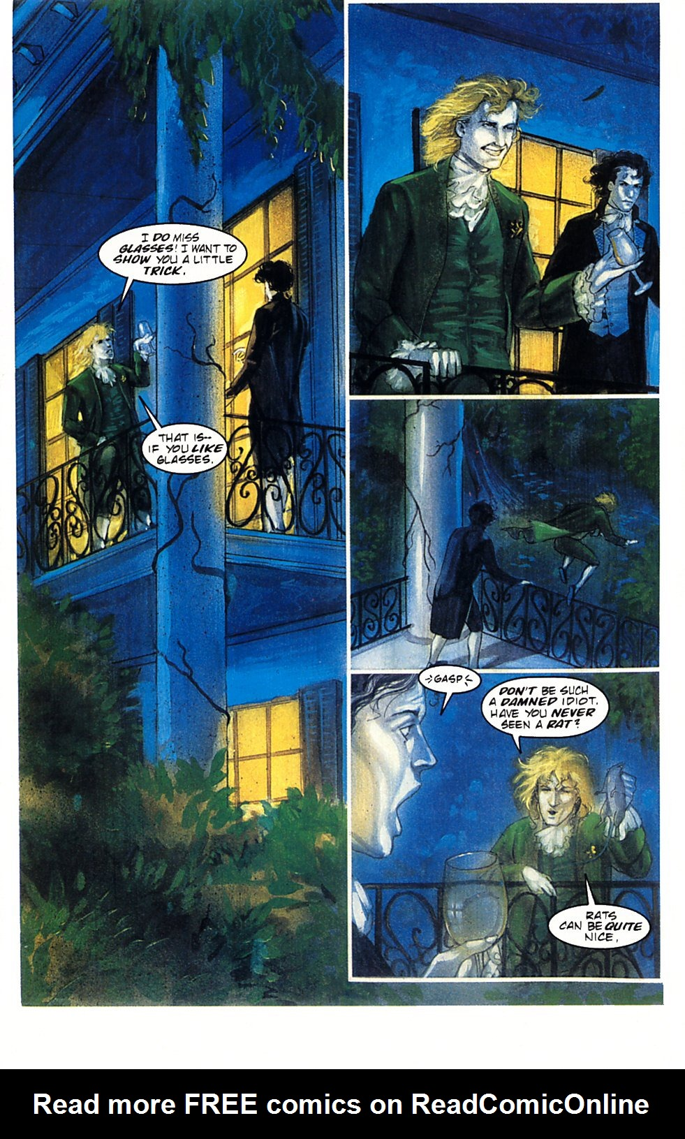 Read online Anne Rice's Interview with the Vampire comic -  Issue #1 - 31