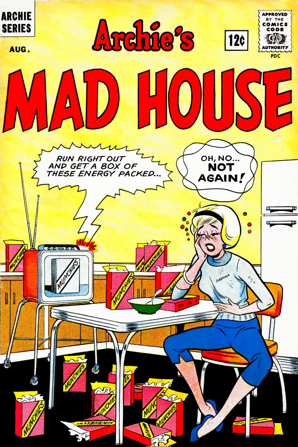 Archie's Madhouse issue 27 - Page 1