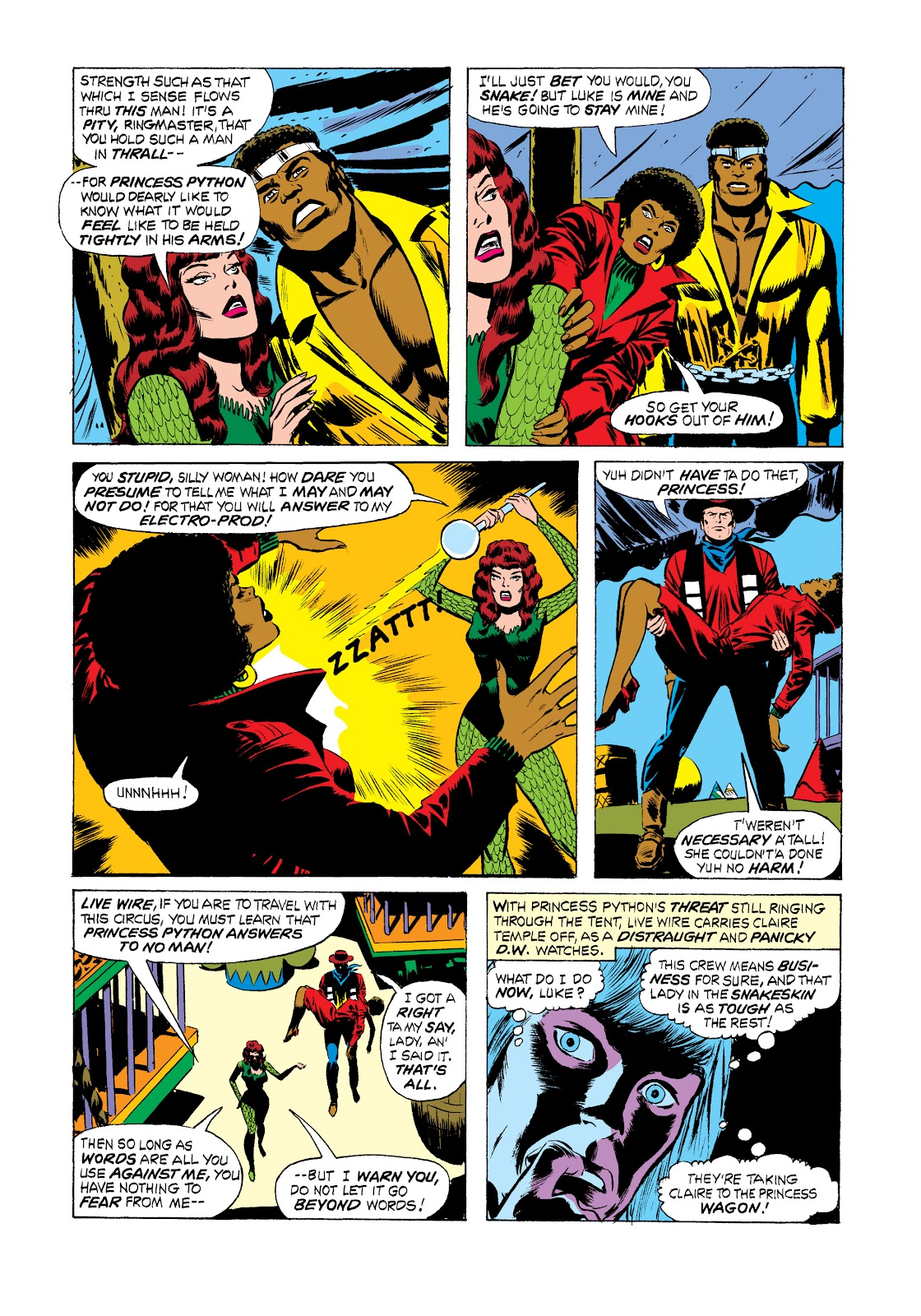 Read online Marvel Masterworks: Luke Cage, Power Man comic -  Issue # TPB 2 (Part 2) - 67