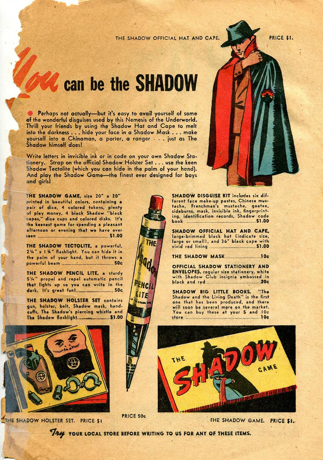 Read online Shadow Comics comic -  Issue #9 - 65