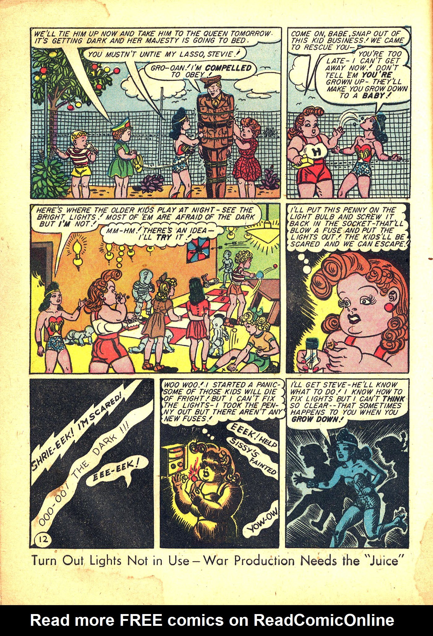 Read online Sensation (Mystery) Comics comic -  Issue #31 - 14