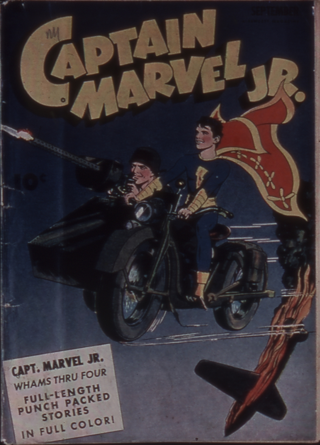 Captain Marvel, Jr. issue 11 - Page 1