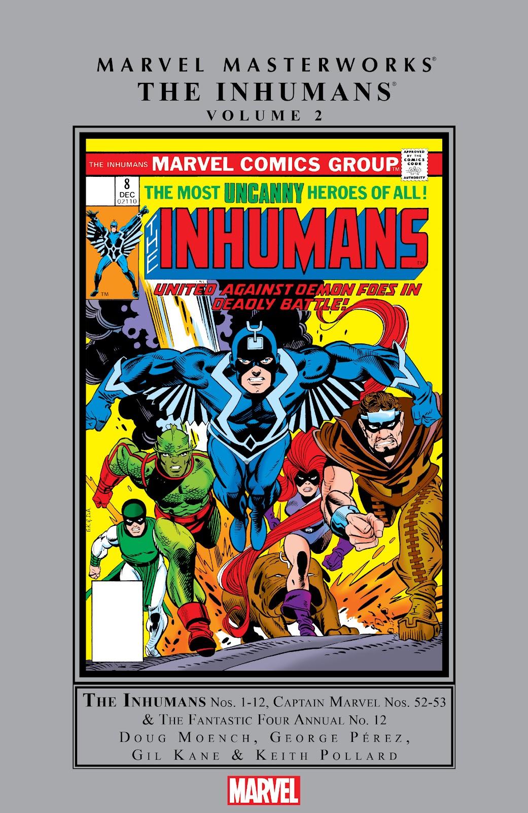 Read online Marvel Masterworks: The Inhumans comic -  Issue # TPB 2 (Part 1) - 1