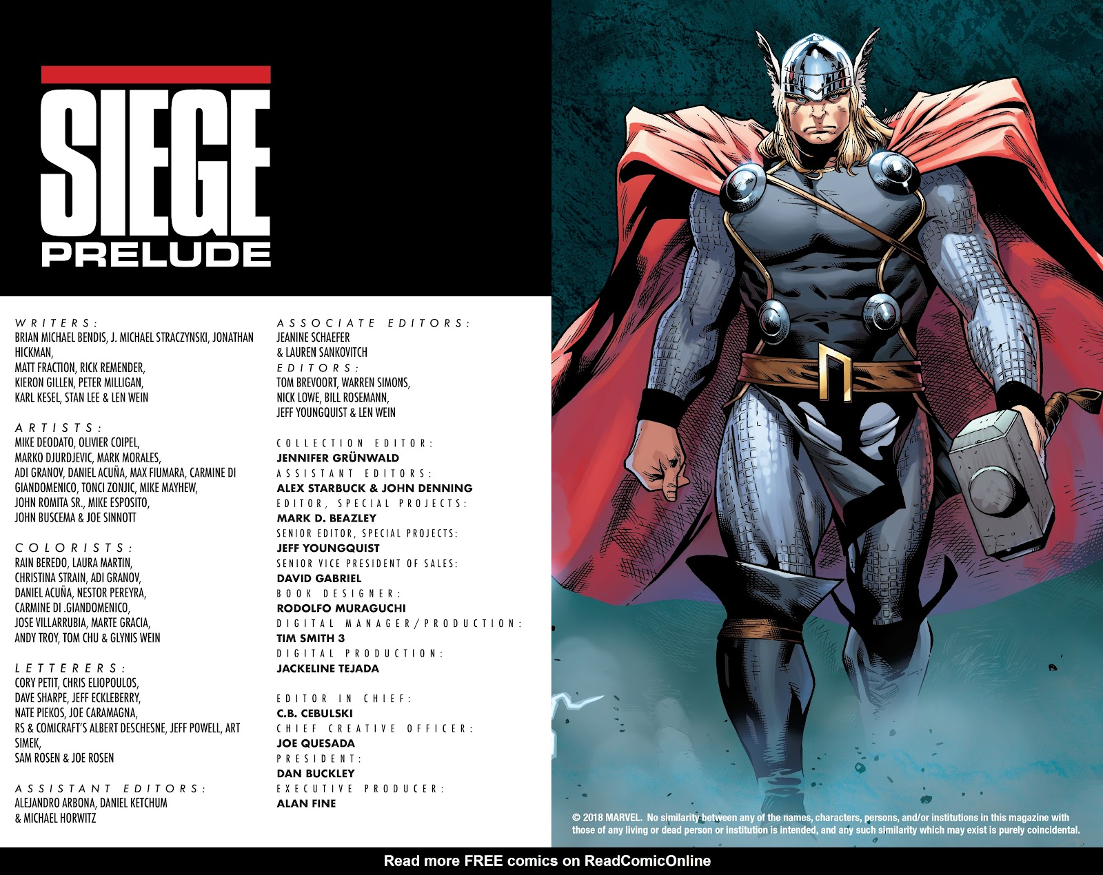 Read online Siege Prelude comic -  Issue # TPB (Part 1) - 3