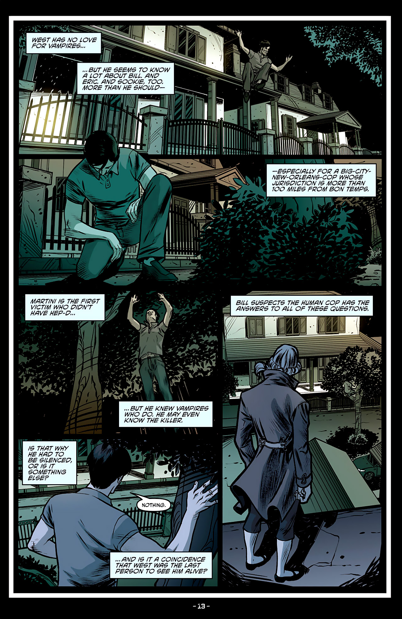 Read online True Blood: French Quarter comic -  Issue #3 - 18