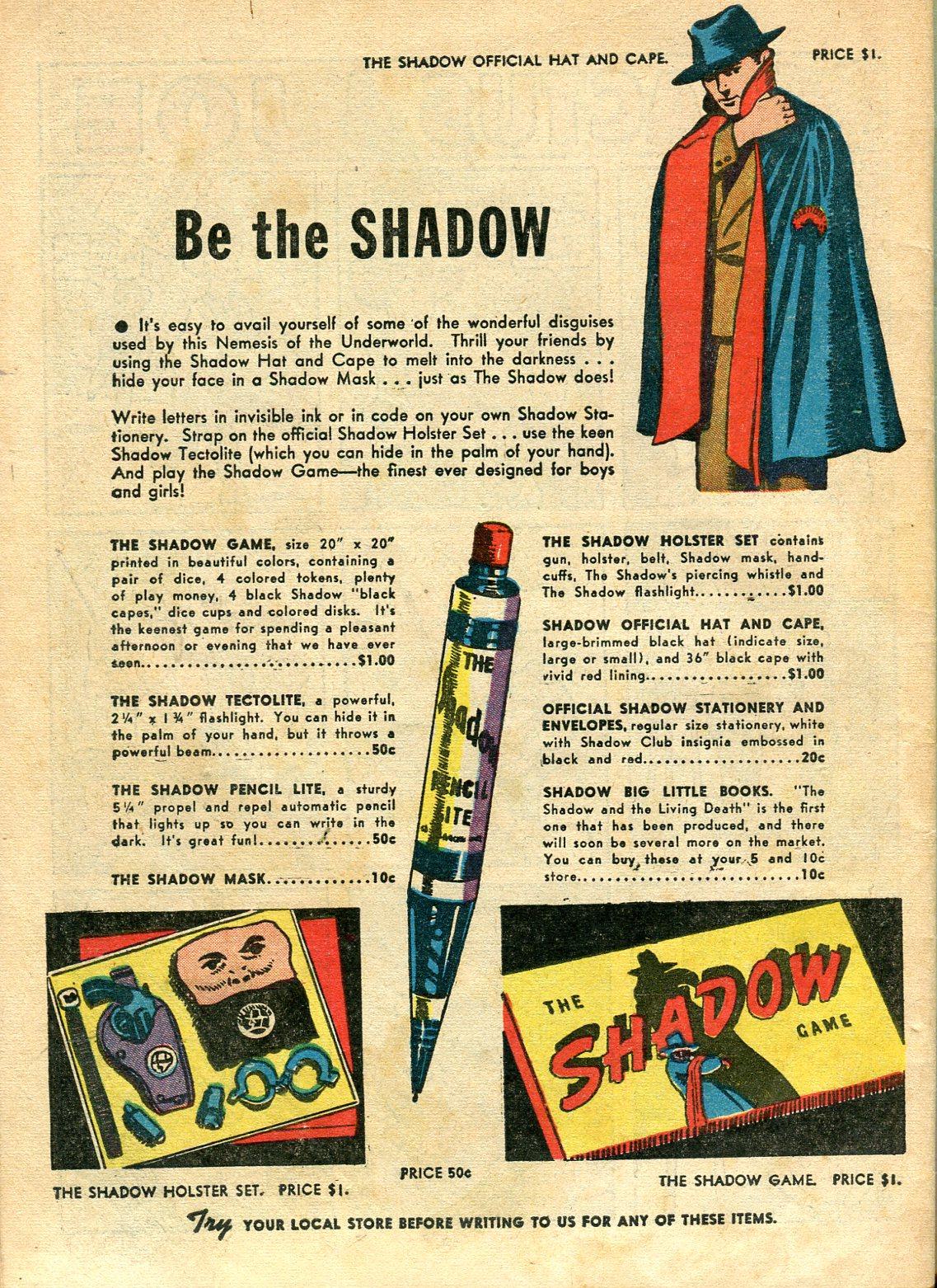 Read online Shadow Comics comic -  Issue #10 - 64