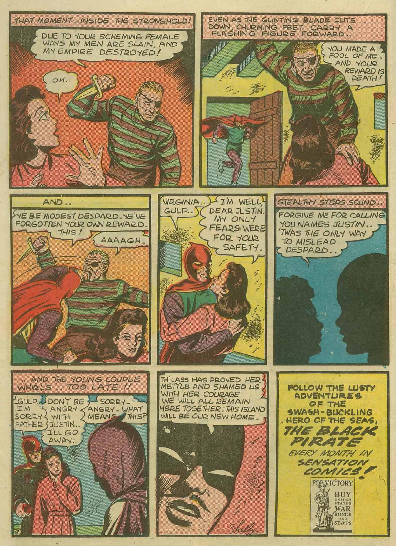Read online Sensation (Mystery) Comics comic -  Issue #14 - 24
