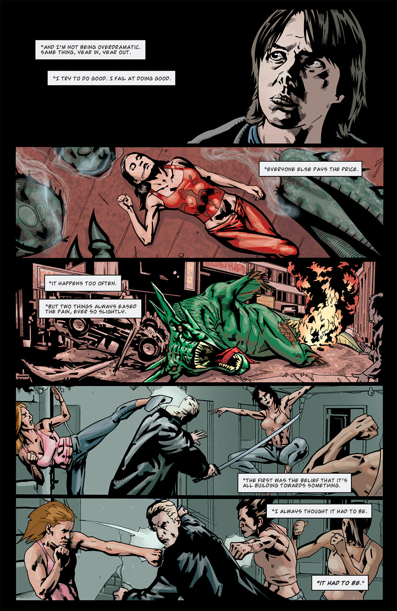 Read online Angel: After The Fall comic -  Issue #13 - 13