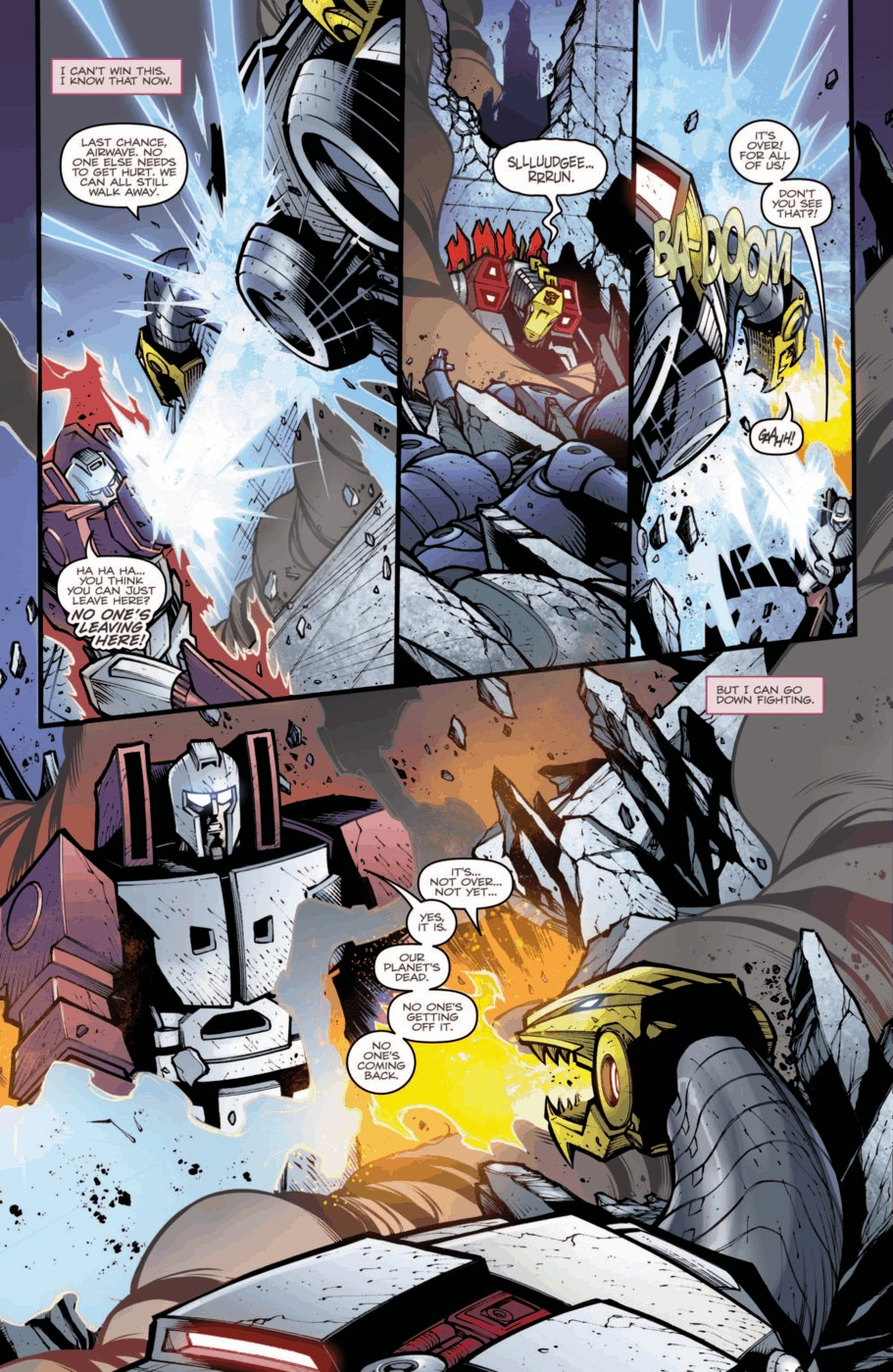 Read online Transformers Prime: Beast Hunters comic -  Issue #2 - 19