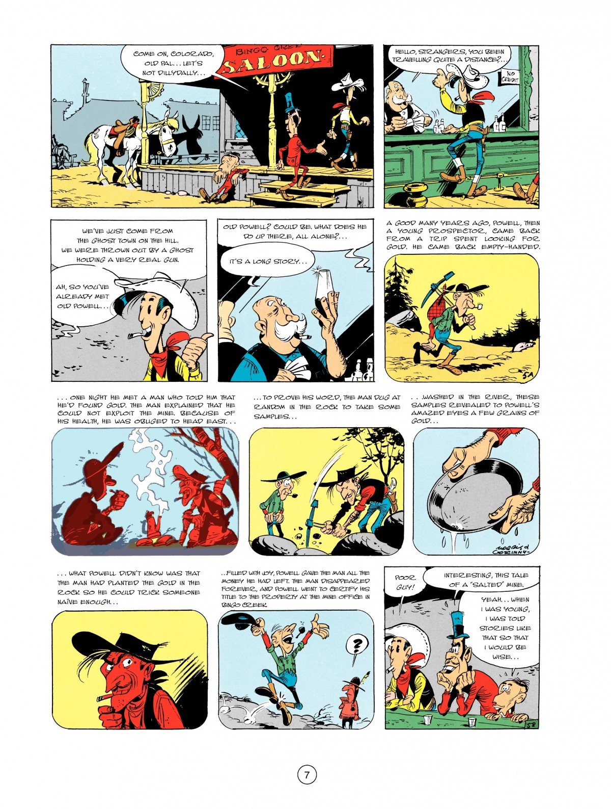 Read online A Lucky Luke Adventure comic -  Issue #2 - 9