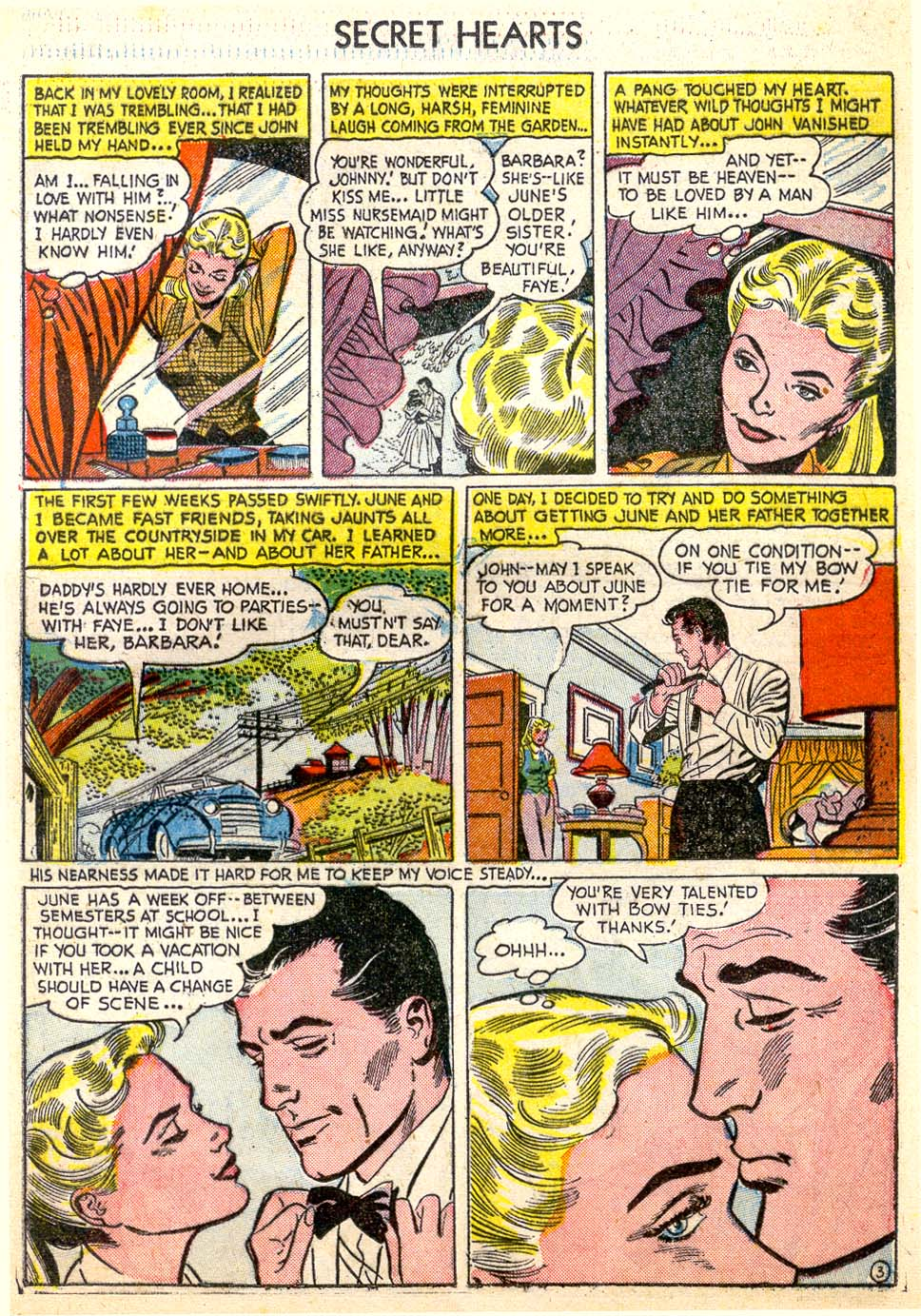Read online Secret Hearts comic -  Issue #26 - 21