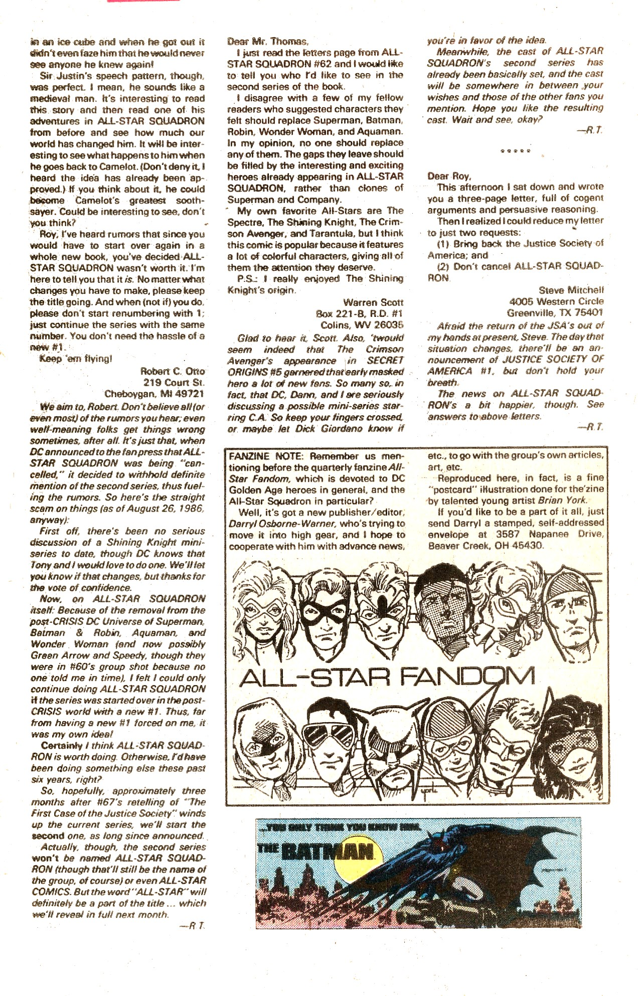 Read online All-Star Squadron comic -  Issue #66 - 34