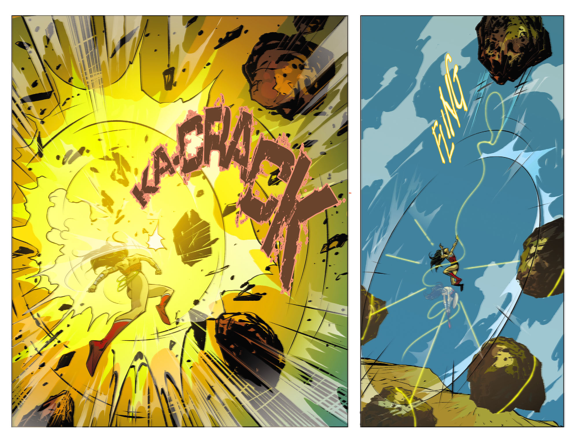 Read online Sensation Comics Featuring Wonder Woman comic -  Issue #25 - 4
