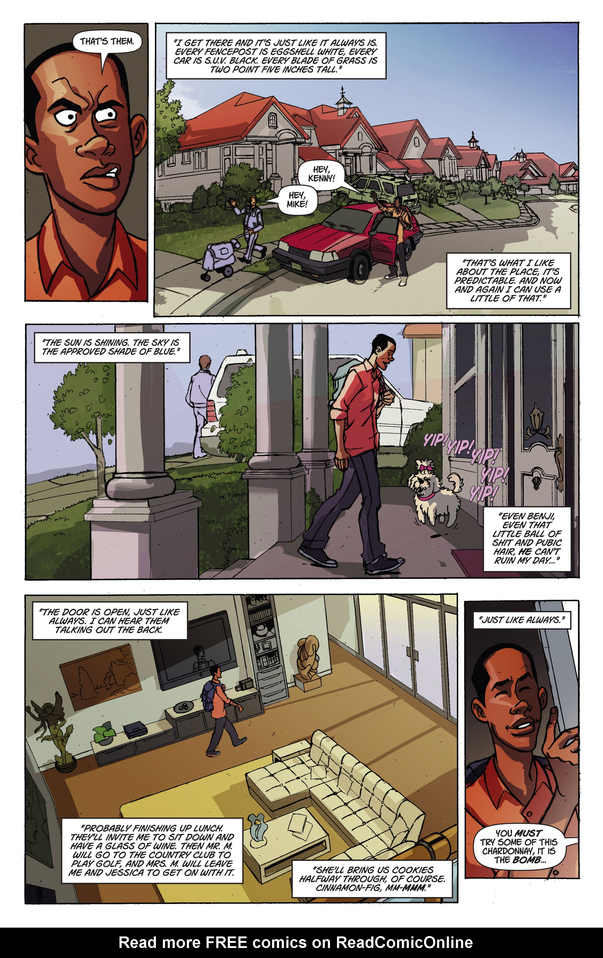 Read online A Train Called Love comic -  Issue #1 - 11
