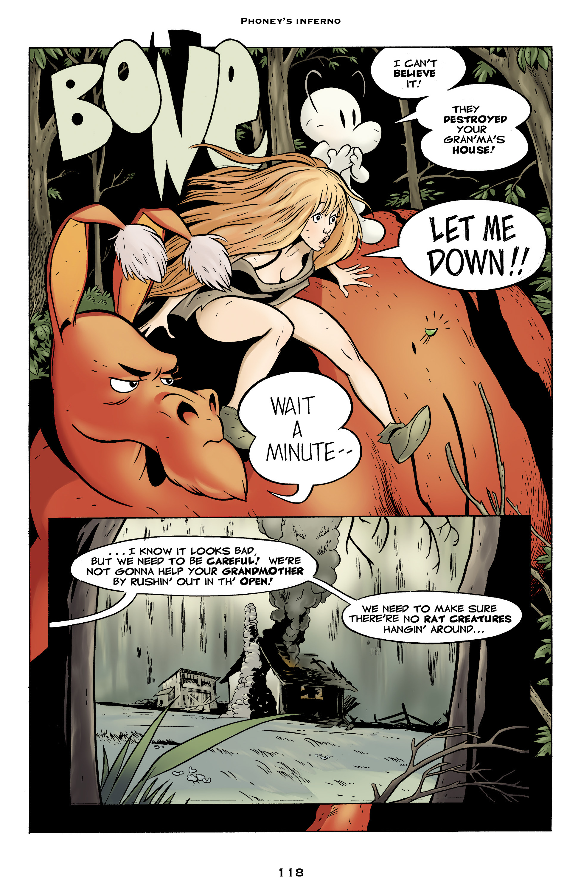 Read online Bone: Out From Boneville comic -  Issue # TPB - 118