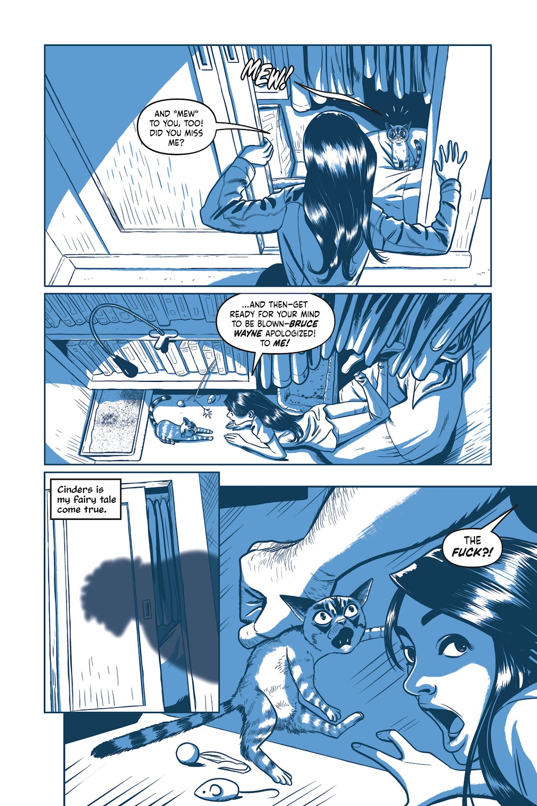 Read online Under the Moon: A Catwoman Tale comic -  Issue # TPB (Part 1) - 58