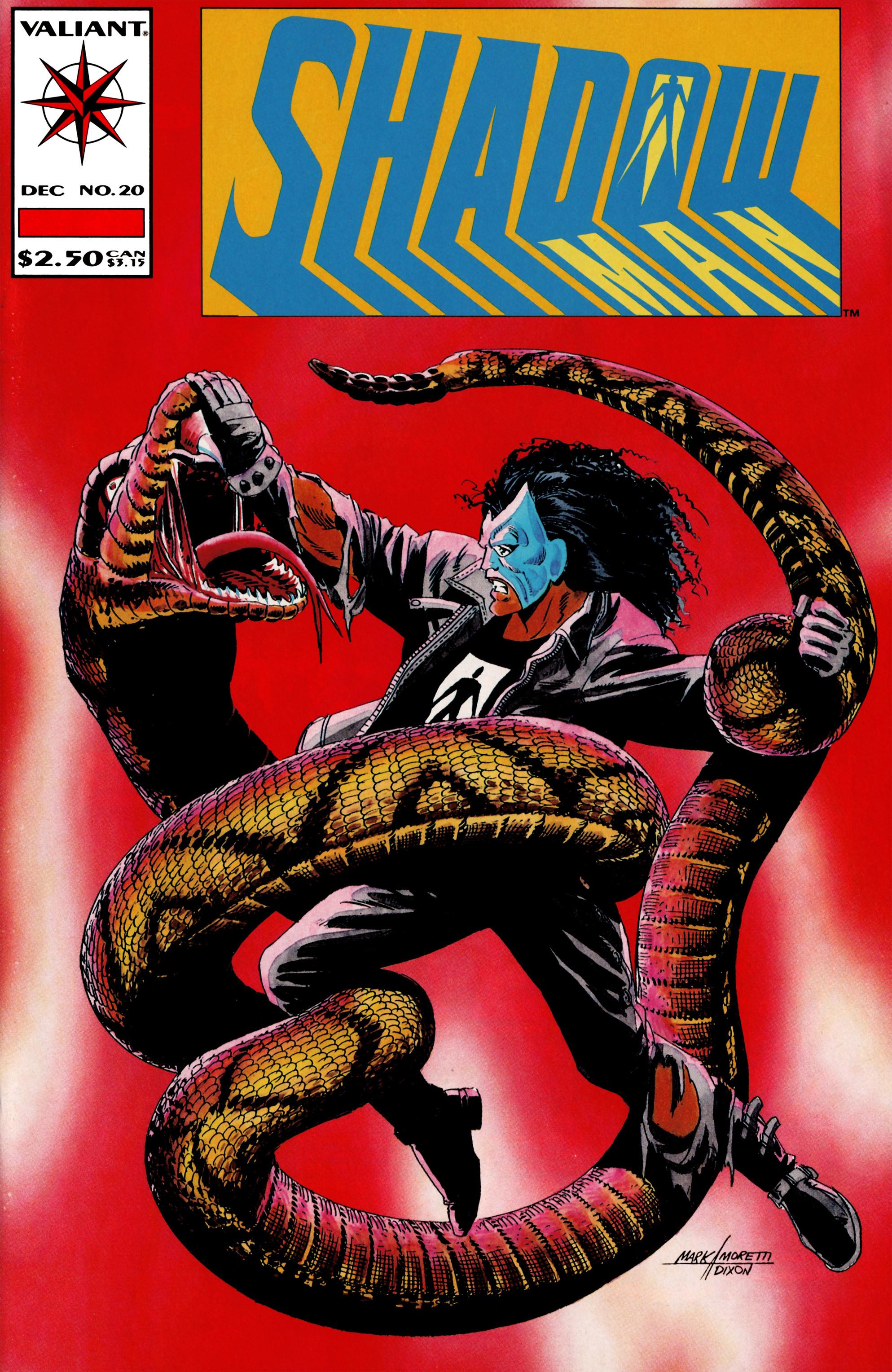 Read online Shadowman (1992) comic -  Issue #20 - 1