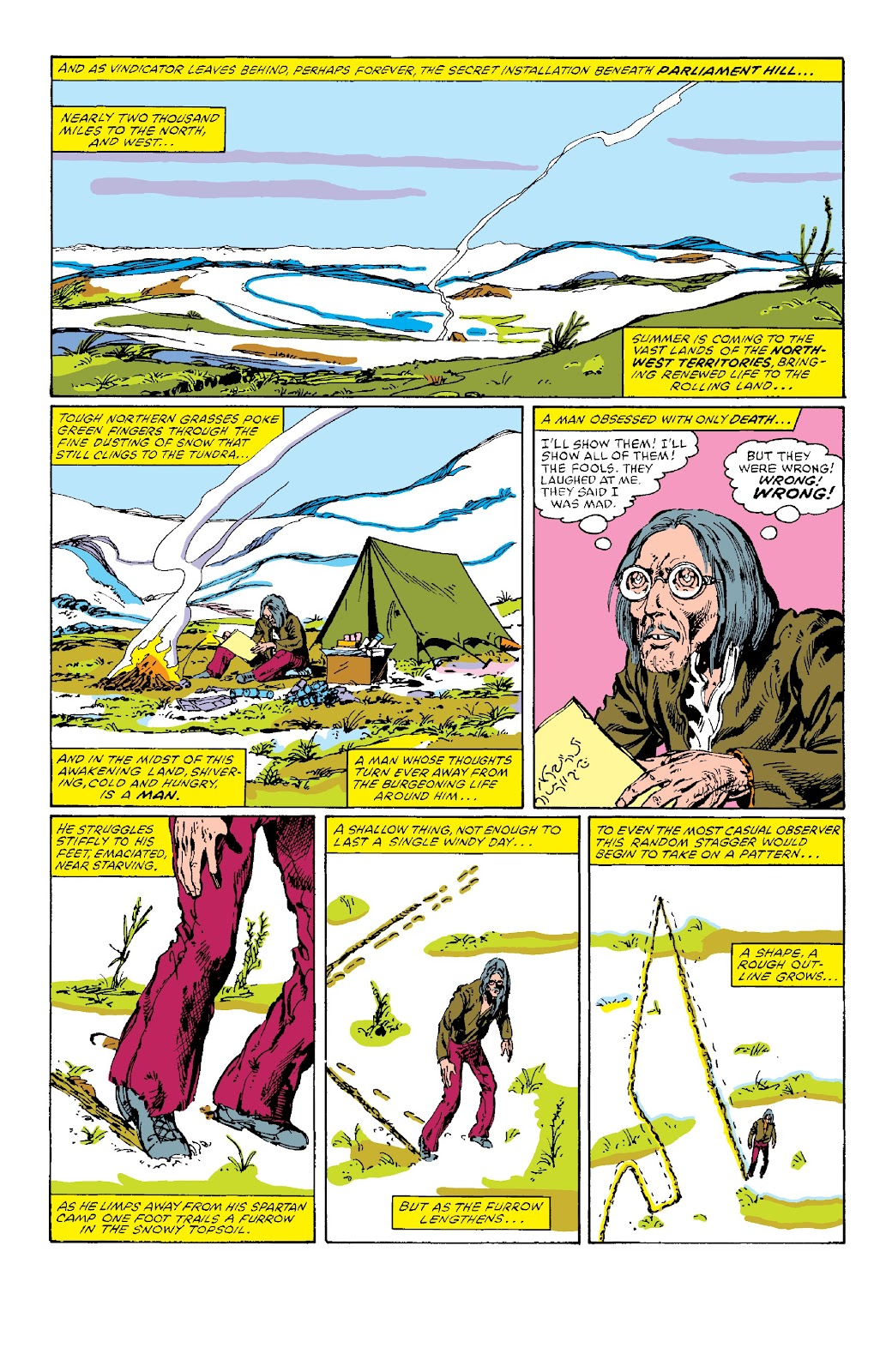 Alpha Flight (1983) issue _Facsimile_Edition_1 - Page 9