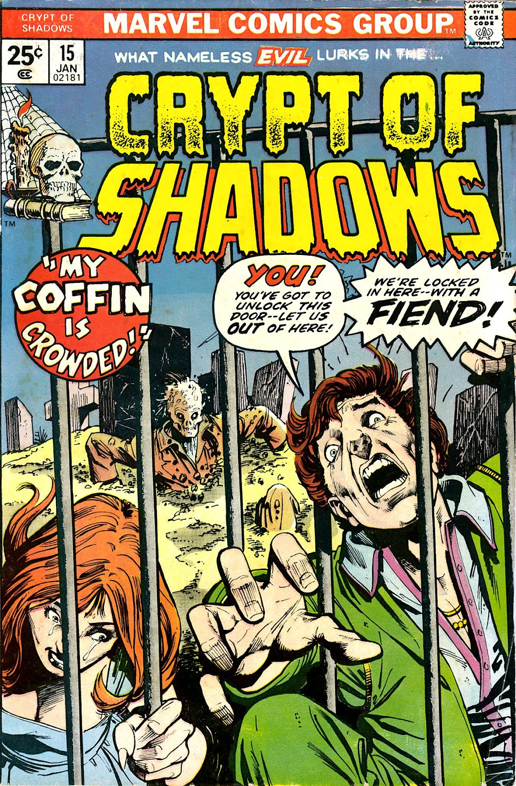 Crypt of Shadows (1973) issue 15 - Page 1
