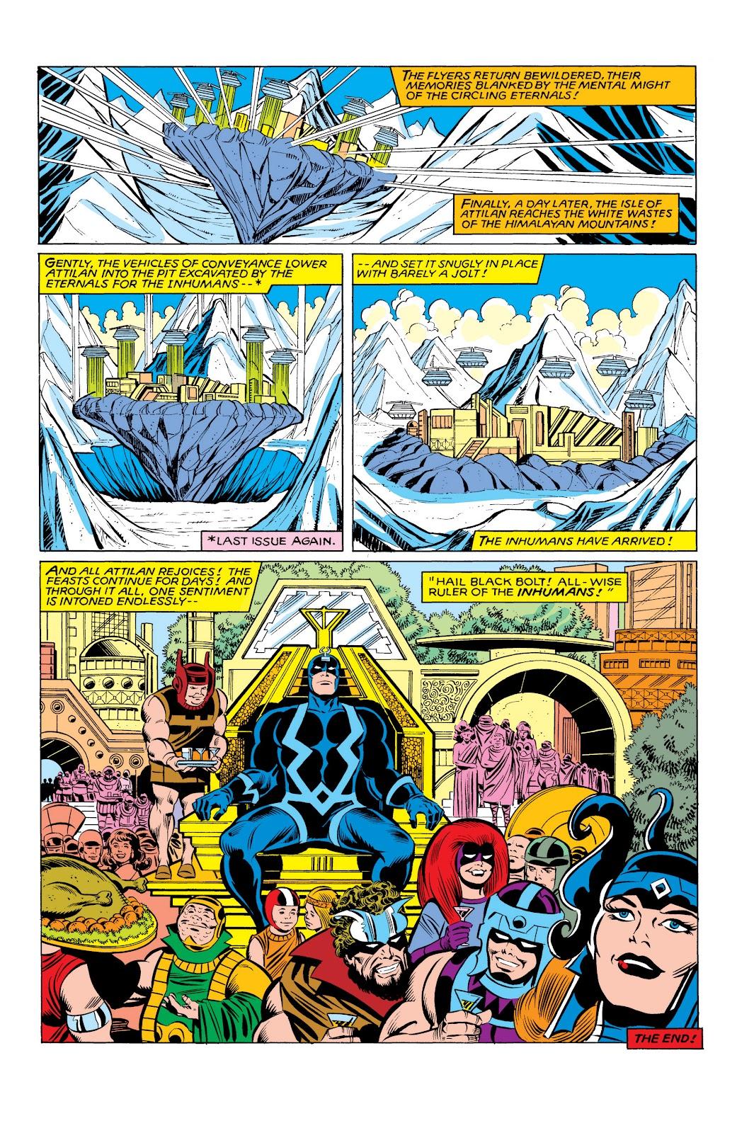 Read online Marvel Masterworks: The Inhumans comic -  Issue # TPB 2 (Part 3) - 96