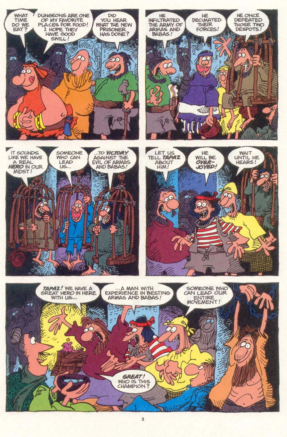 Read online Sergio Aragonés Groo the Wanderer comic -  Issue #107 - 5