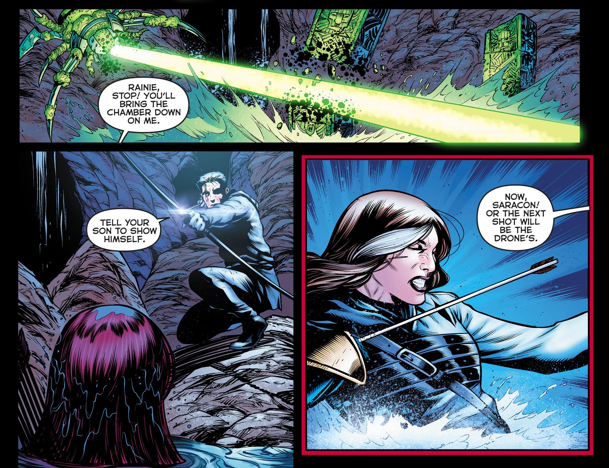 Read online Arrow: The Dark Archer comic -  Issue #10 - 10