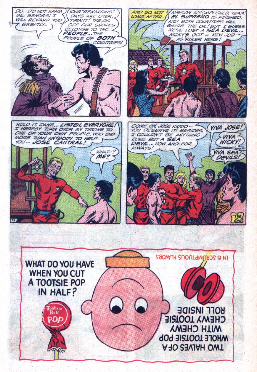 Read online Sea Devils comic -  Issue #25 - 33