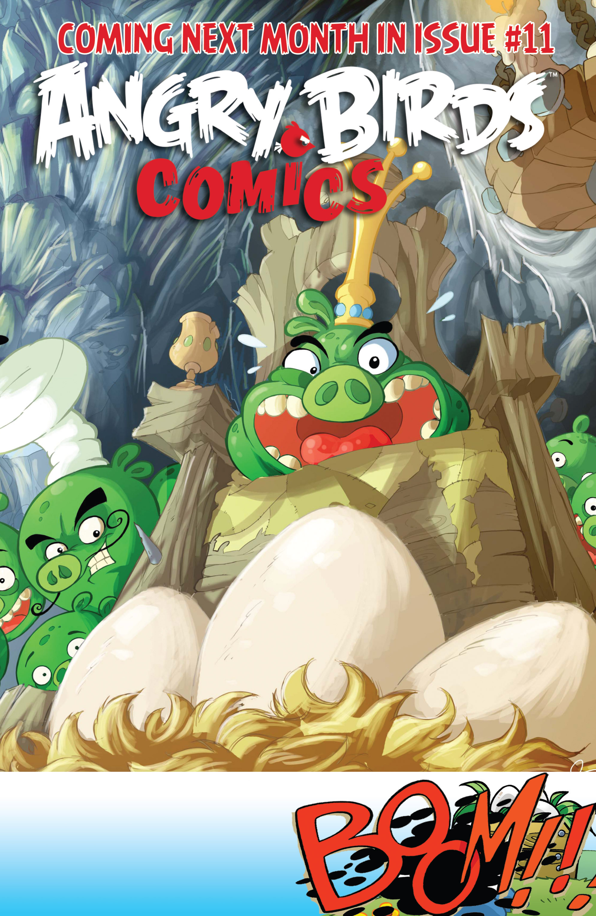 Read online Angry Birds Comics (2014) comic -  Issue #10 - 23