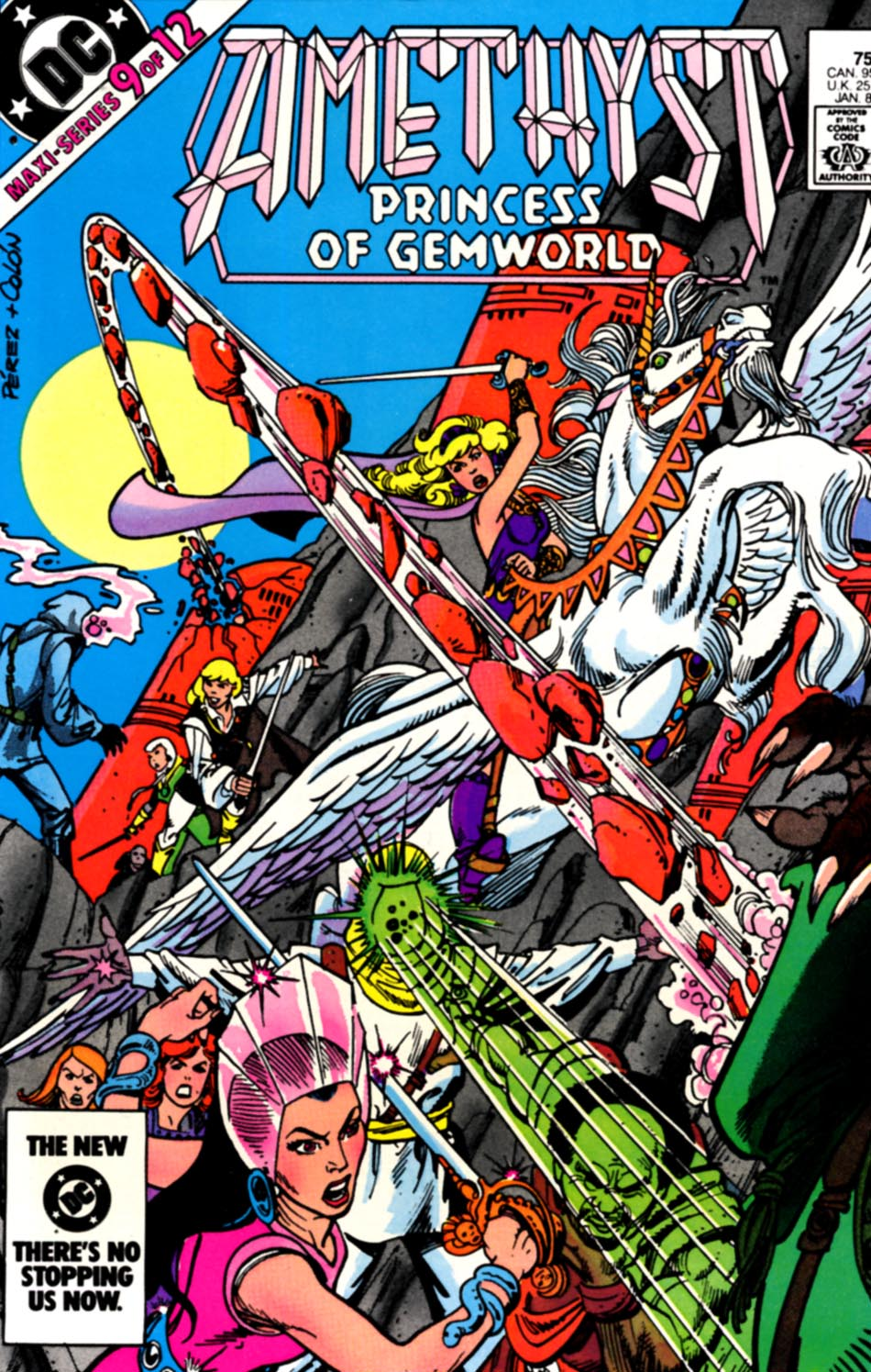 Read online Amethyst, Princess of Gemworld comic -  Issue #9 - 1