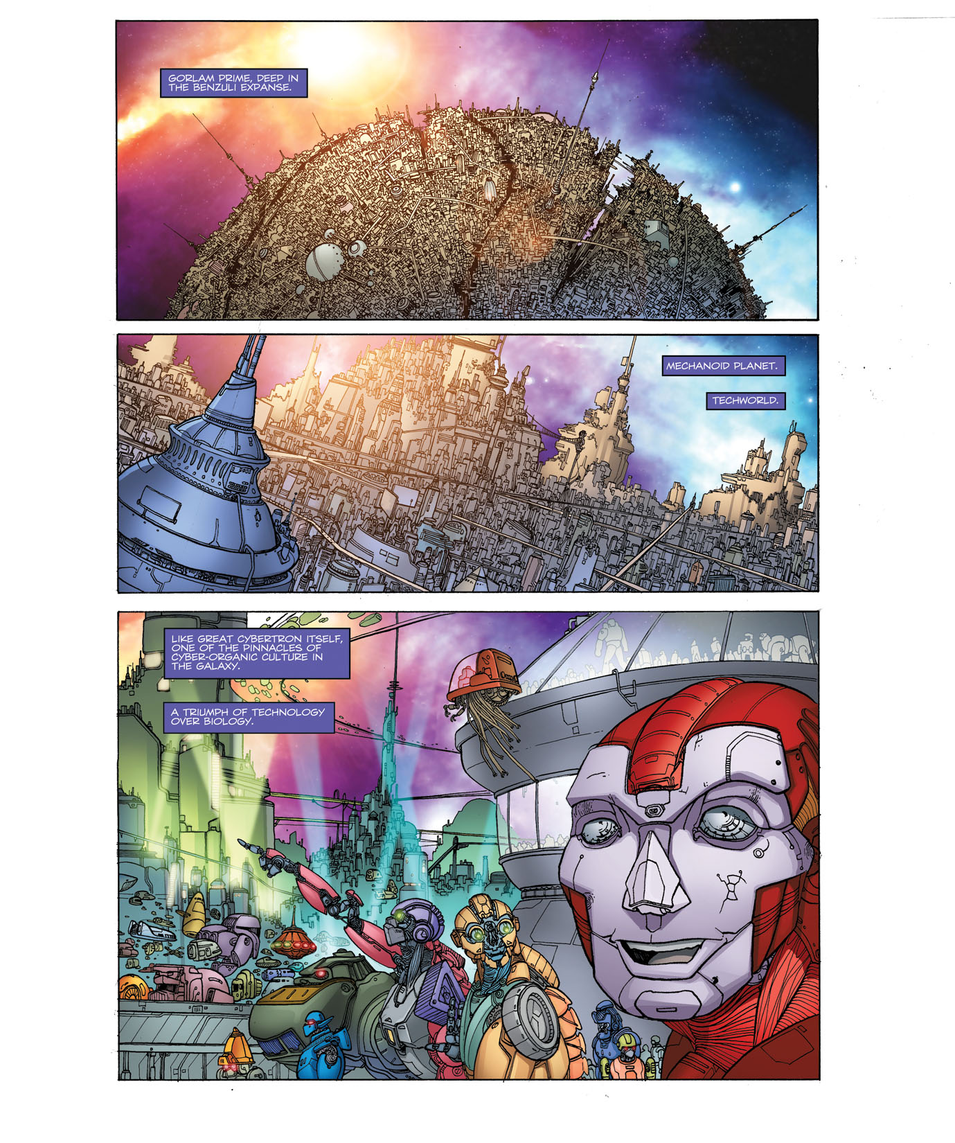 Read online Transformers: Heart of Darkness comic -  Issue #1 - 6
