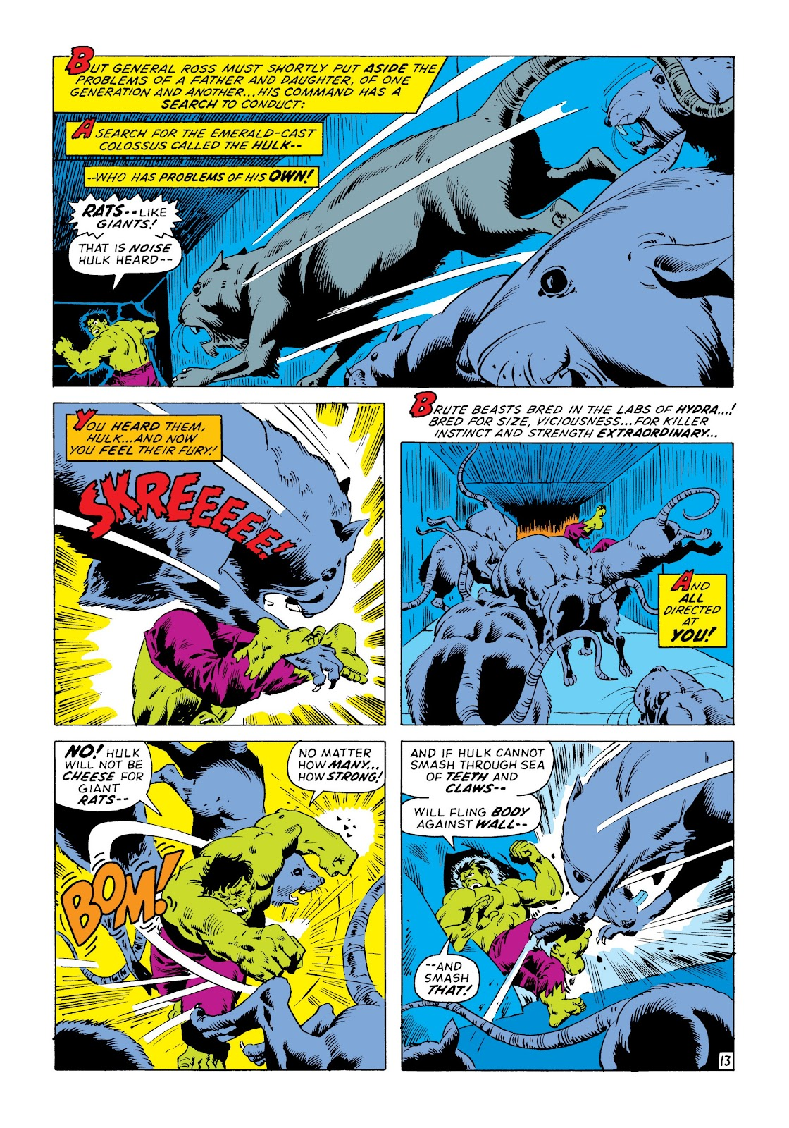 Read online Marvel Masterworks: The Incredible Hulk comic -  Issue # TPB 8 (Part 3) - 31