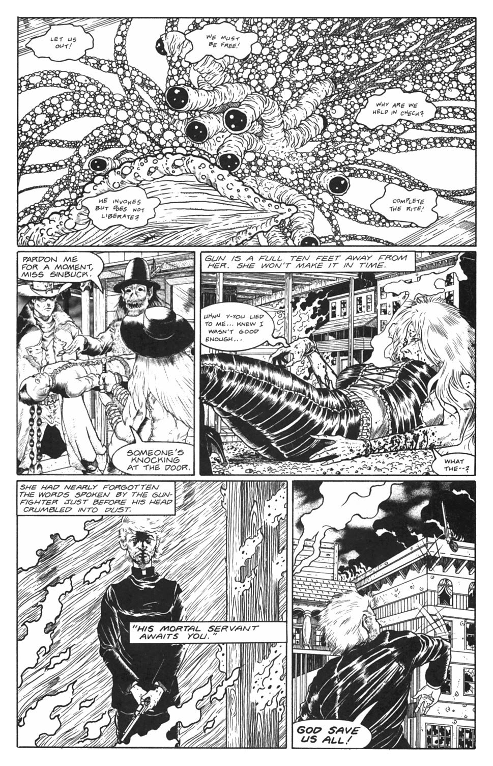 Read online Gunfighters in Hell comic -  Issue #5 - 33