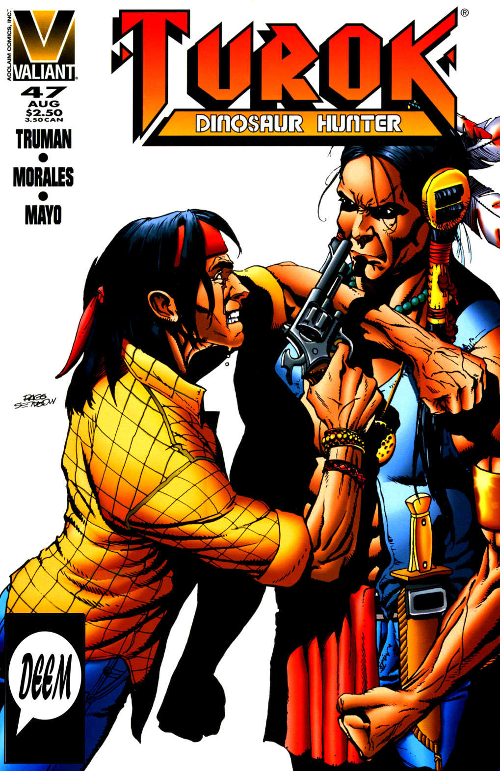 Read online Turok, Dinosaur Hunter (1993) comic -  Issue #47 - 1