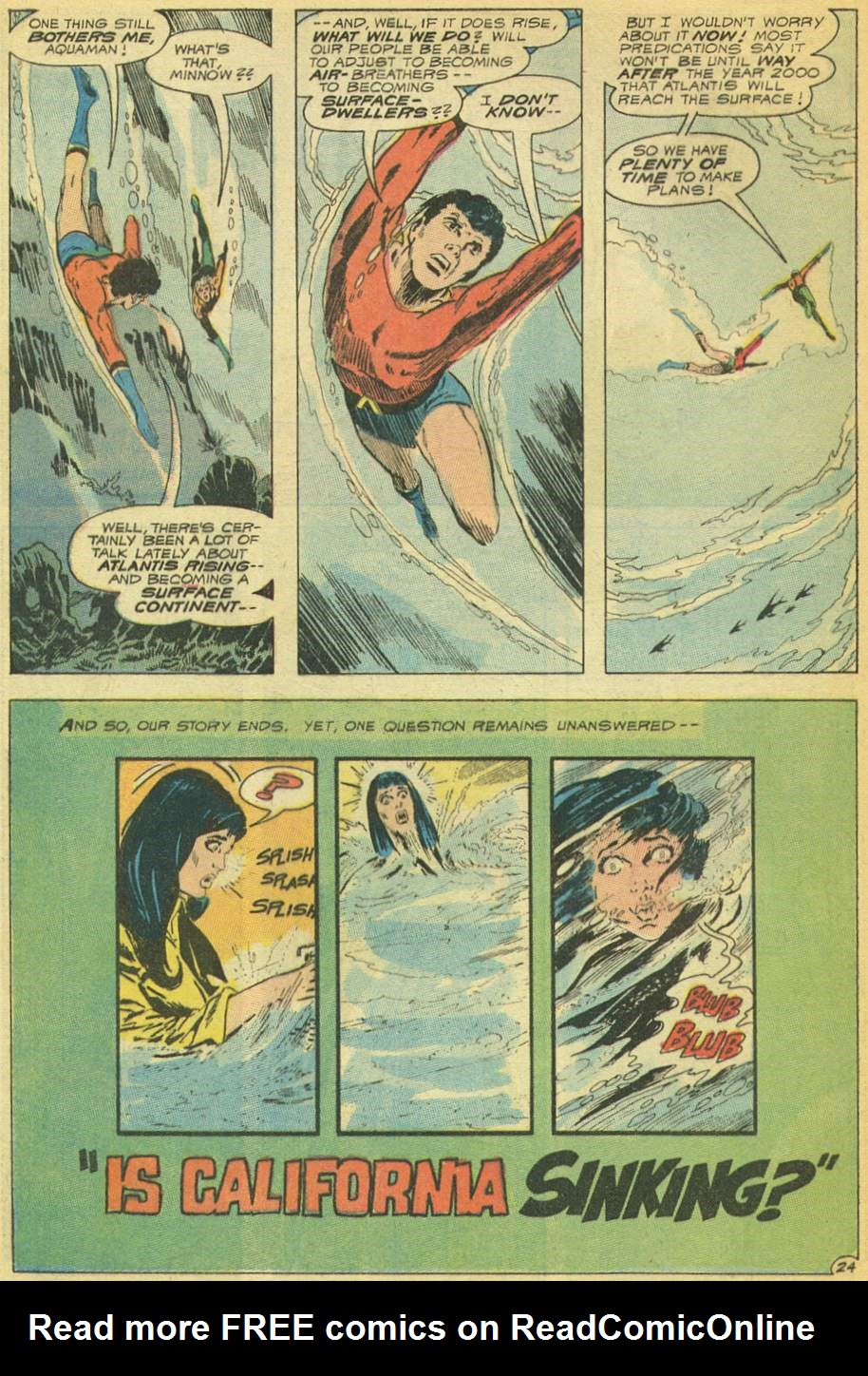 Read online Aquaman (1962) comic -  Issue #53 - 32