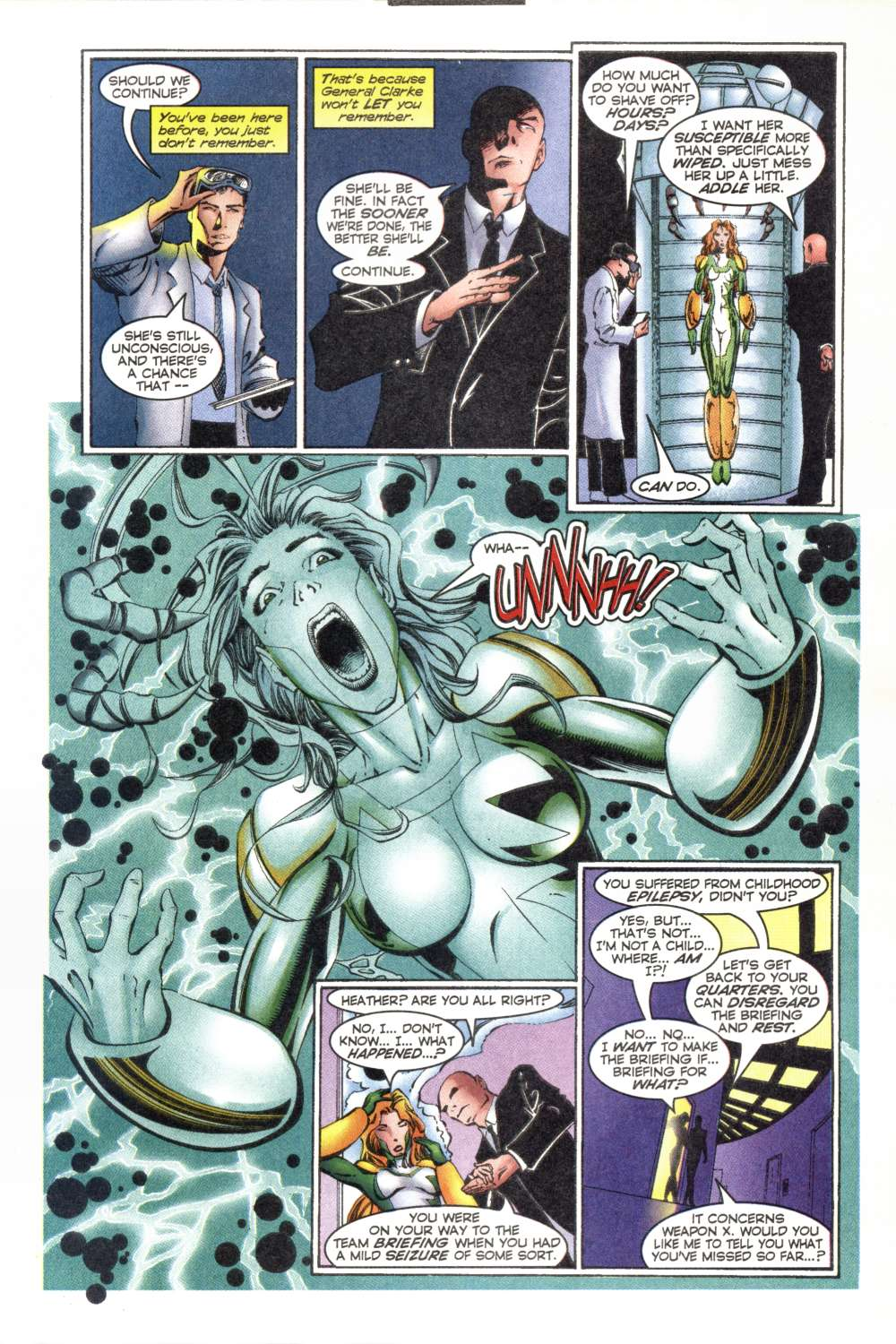 Read online Alpha Flight (1997) comic -  Issue #8 - 16