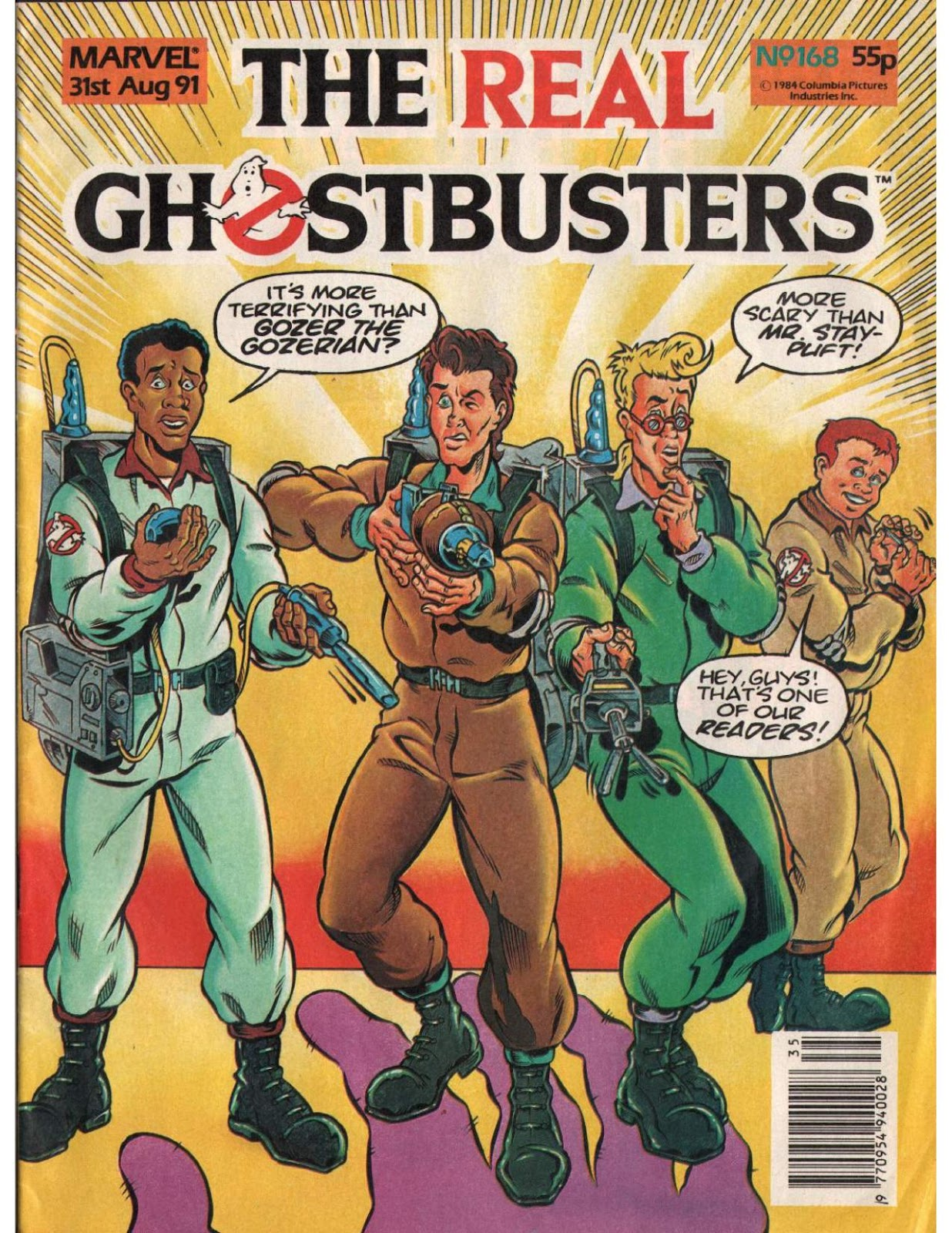 The Real Ghostbusters 168 Page 1