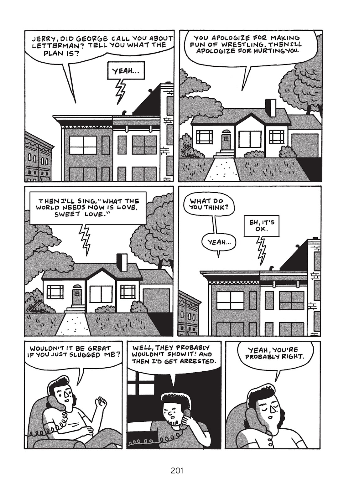 Read online Is This Guy For Real?: The Unbelievable Andy Kaufman comic -  Issue # TPB (Part 3) - 6