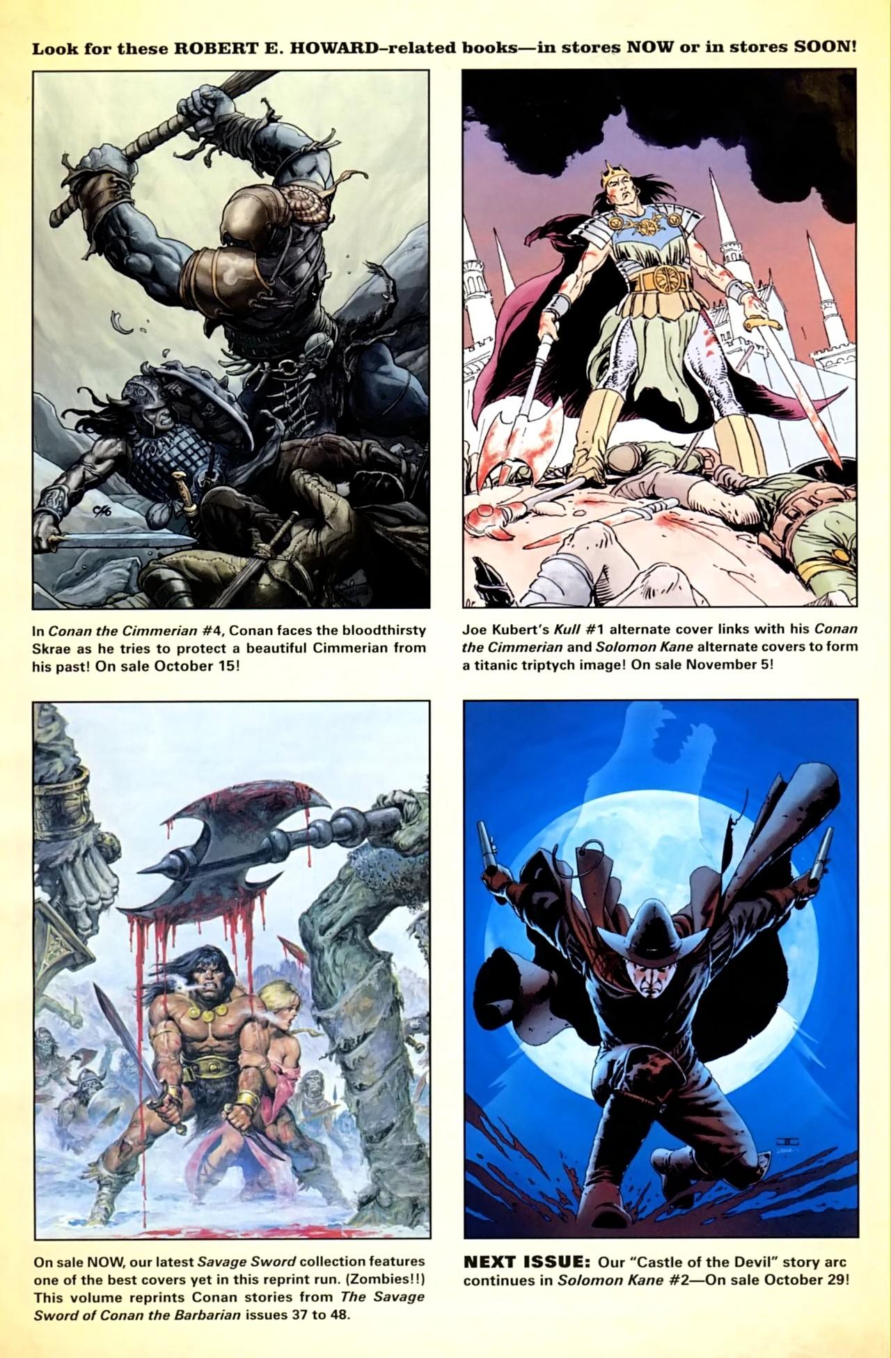 Read online Solomon Kane comic -  Issue #1 - 27
