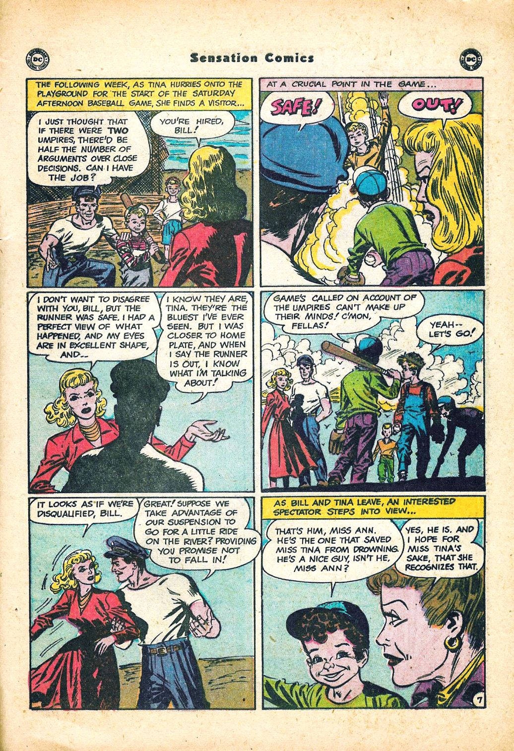 Read online Sensation (Mystery) Comics comic -  Issue #95 - 43