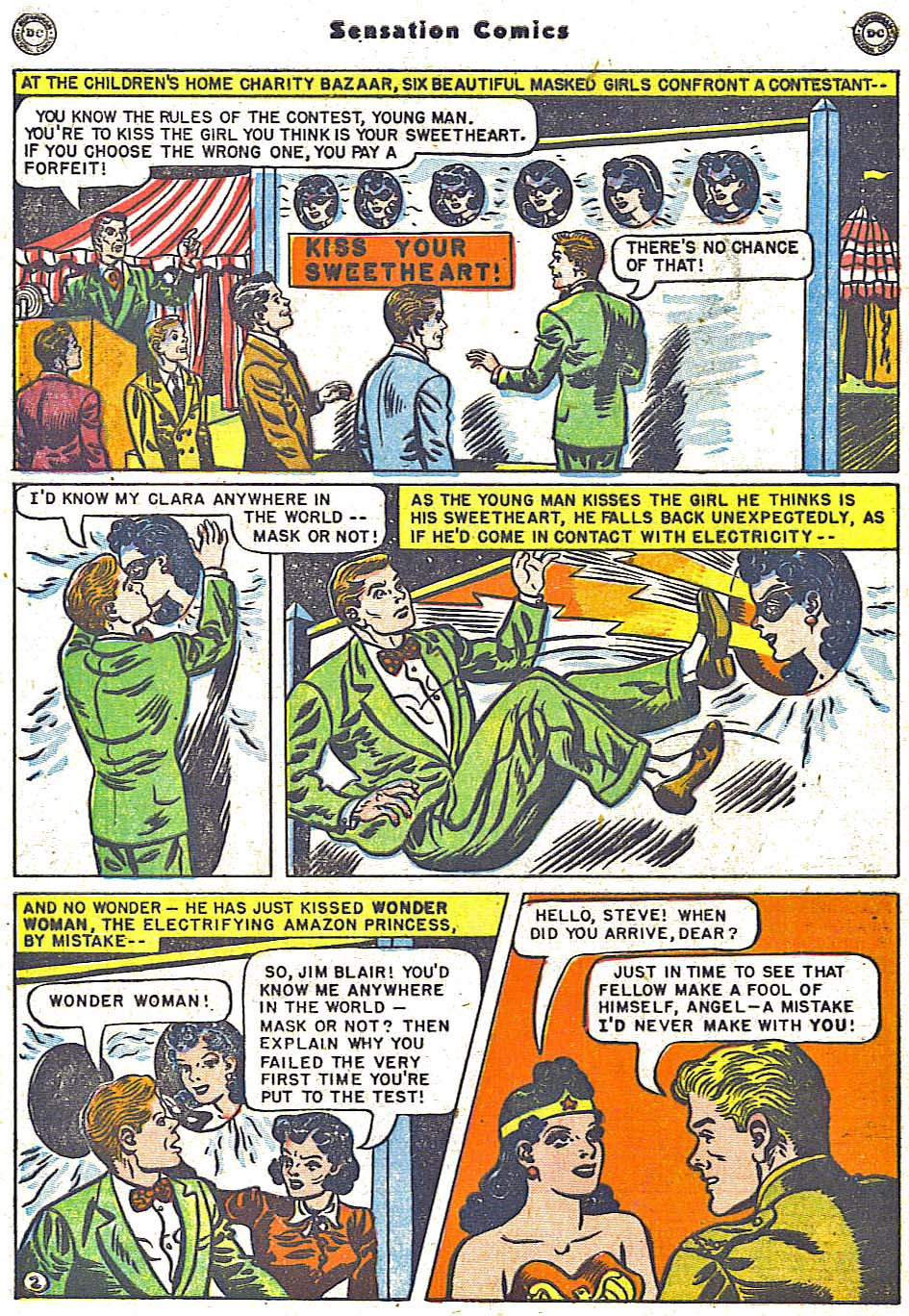 Read online Sensation (Mystery) Comics comic -  Issue #96 - 4