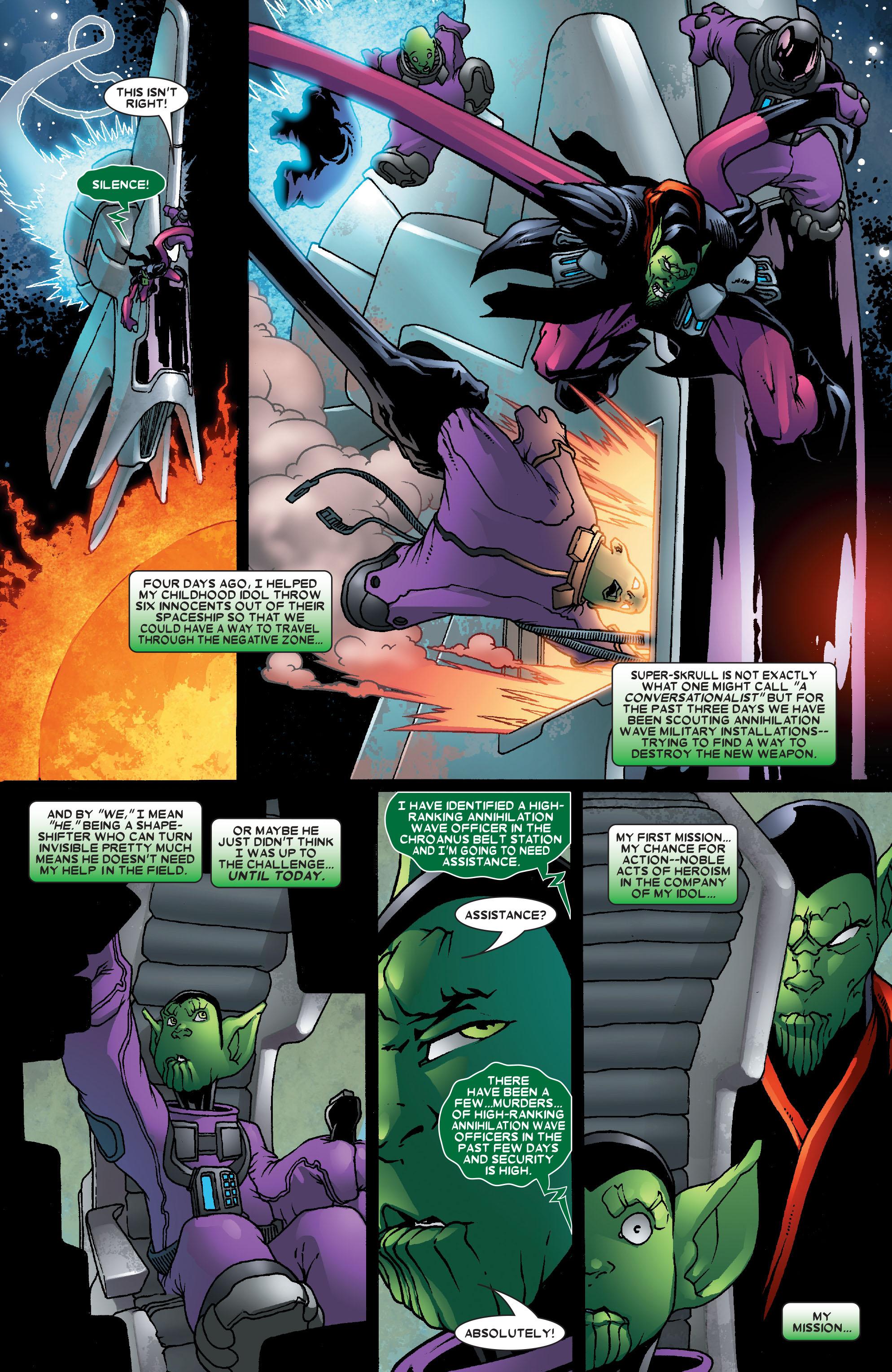 Read online Annihilation: Super-Skrull comic -  Issue #2 - 4