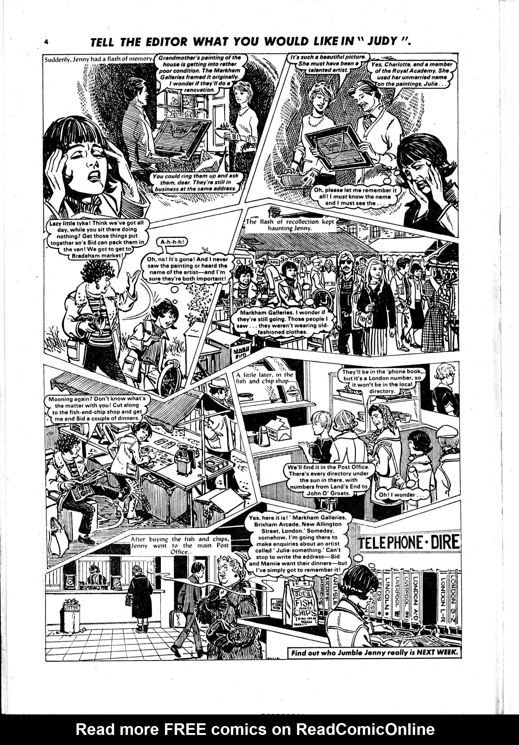 Read online Judy comic -  Issue #97 - 4