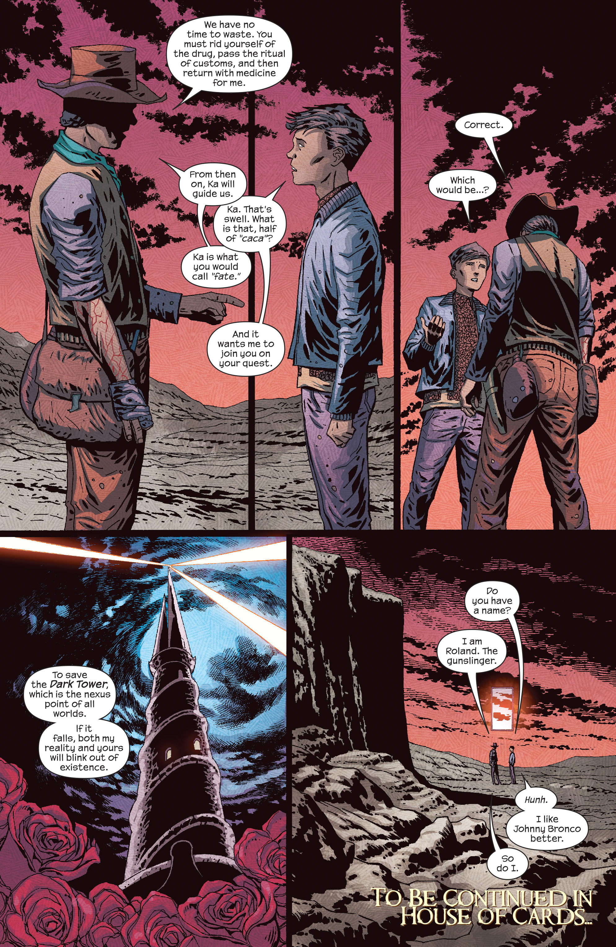 Read online Dark Tower: The Drawing of the Three - The Prisoner comic -  Issue #5 - 21