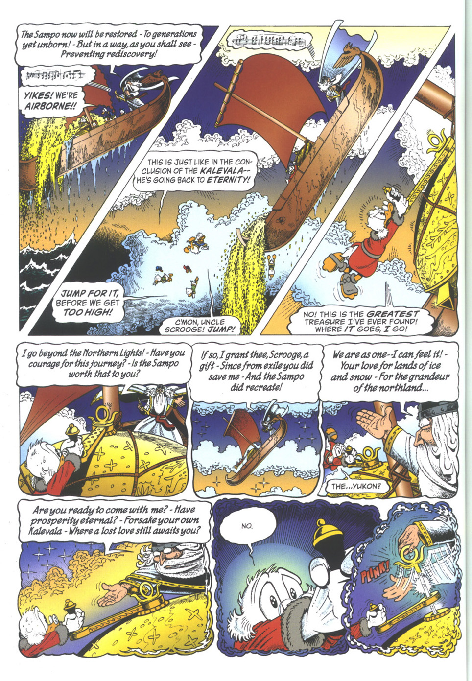 Read online Uncle Scrooge (1953) comic -  Issue #334 - 32