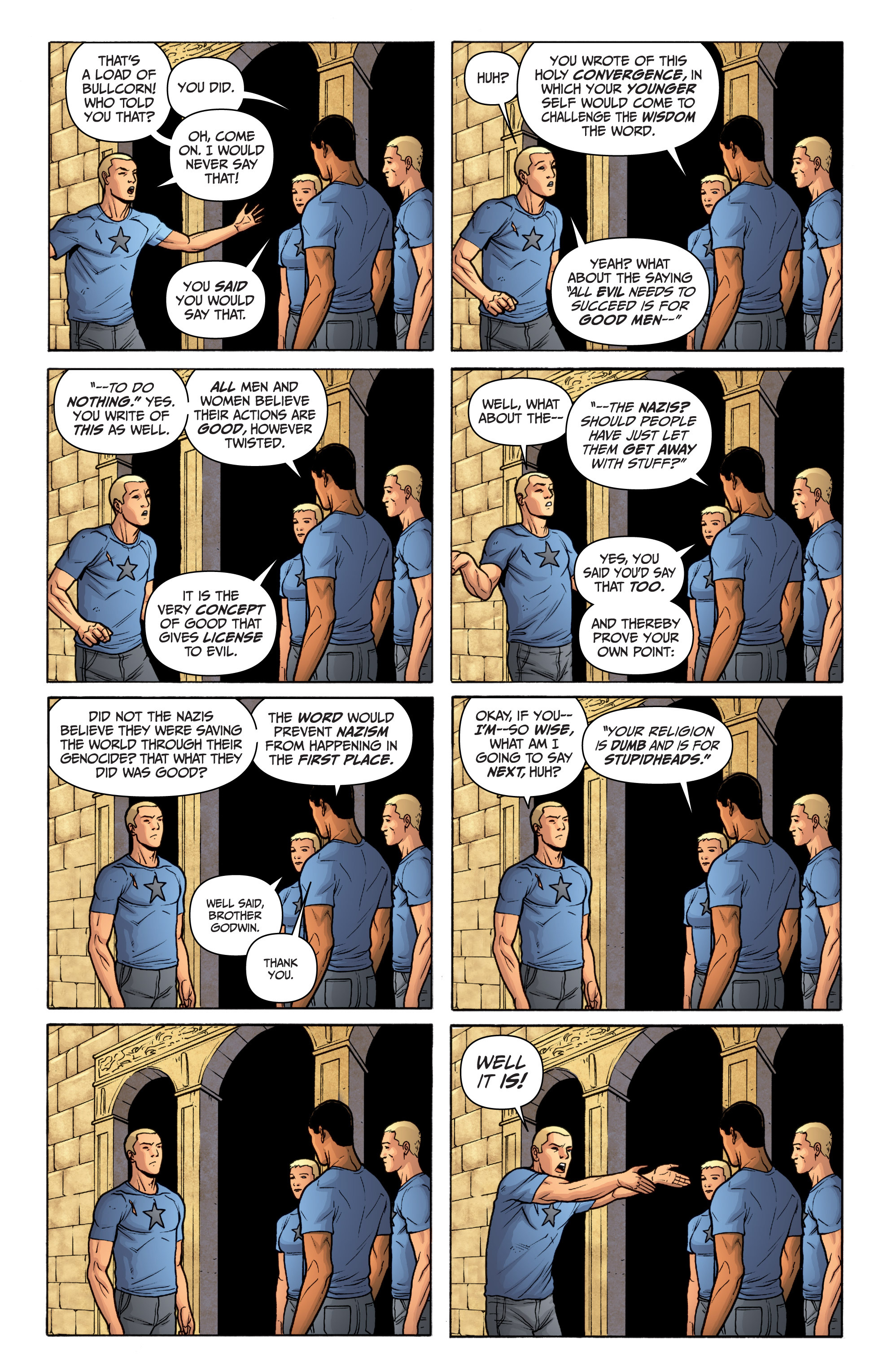 Read online Archer and Armstrong comic -  Issue #12 - 15