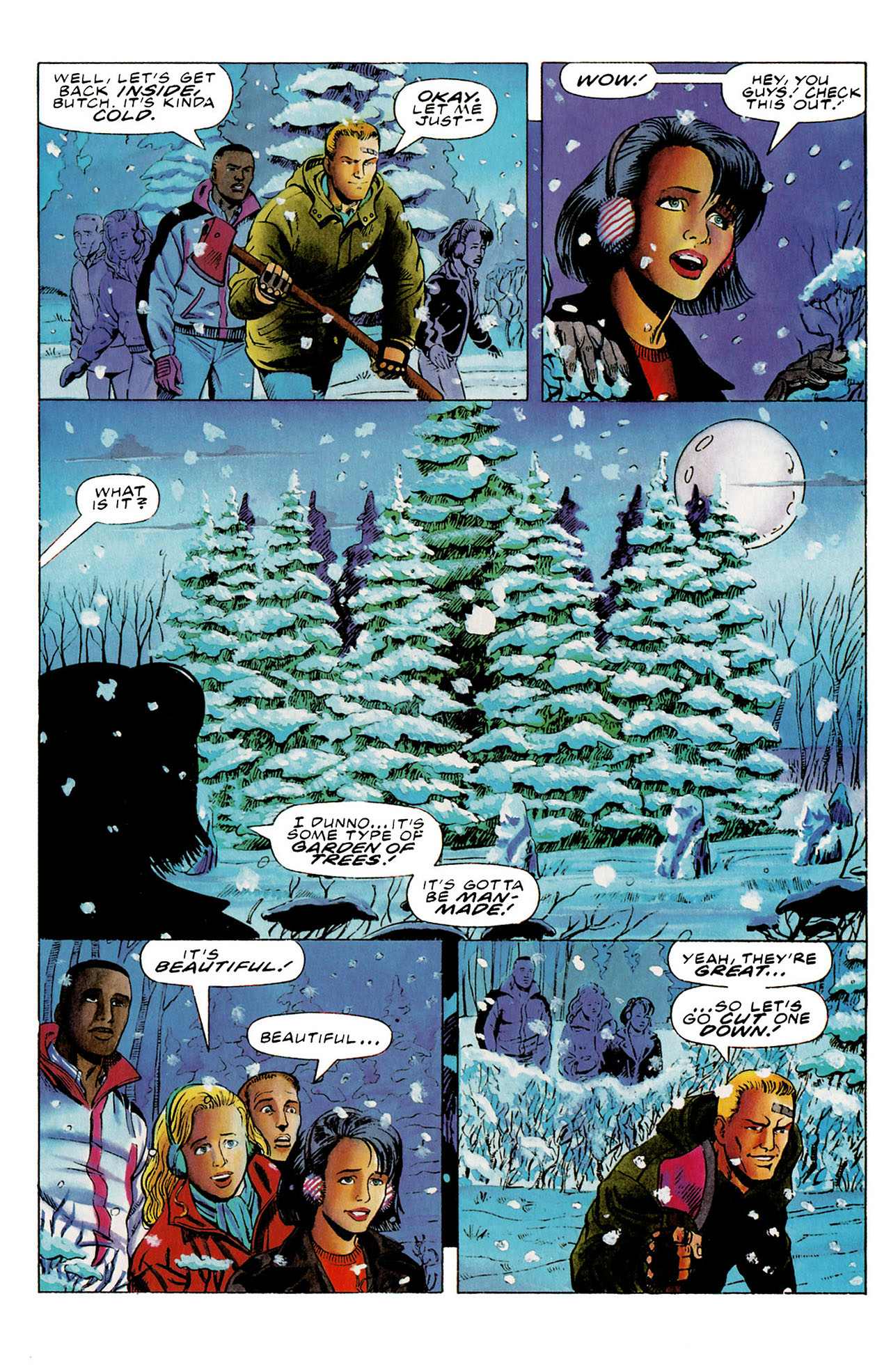 Read online Harbinger (1992) comic -  Issue #27 - 15