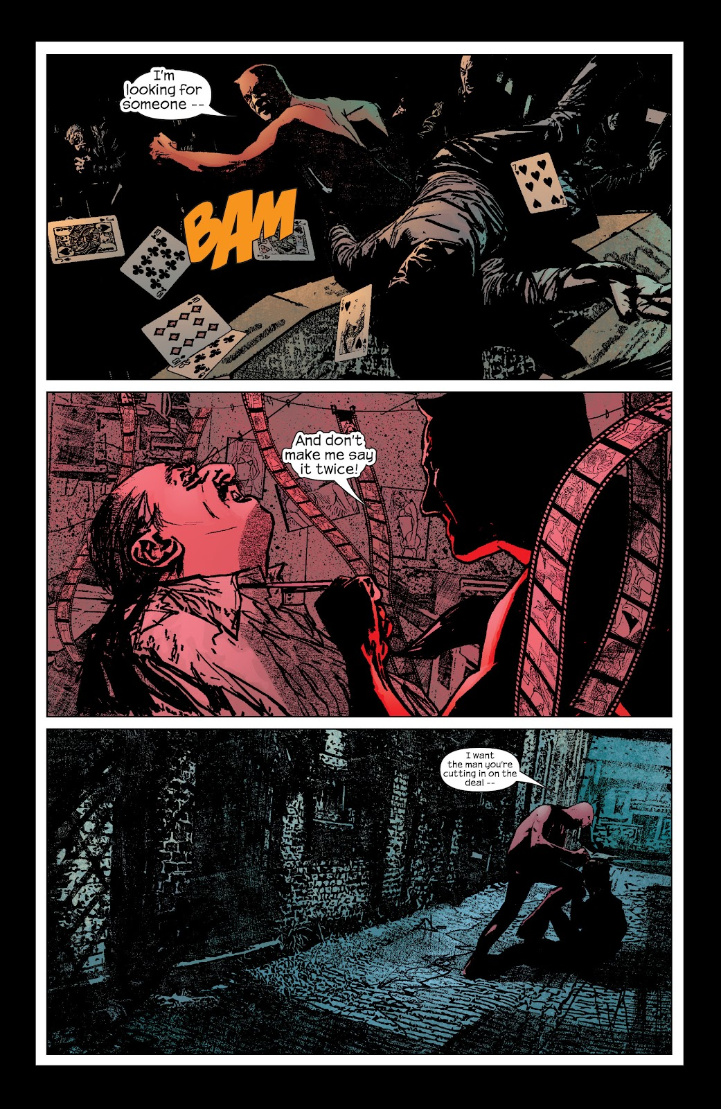 Read online Daredevil (1998) comic -  Issue # _Ultimate_Collection TPB 2 (Part 1) - 16