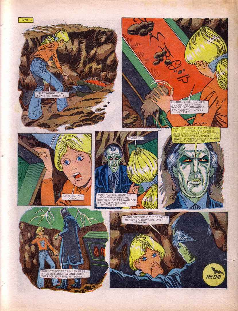 Read online Misty comic -  Issue #40 - 32