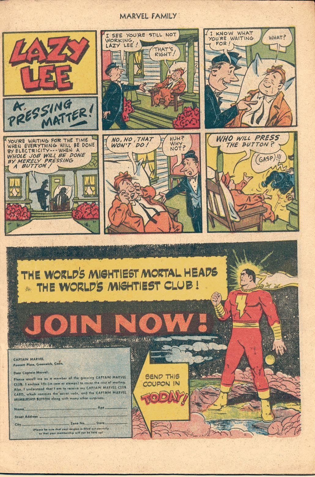 The Marvel Family issue 82 - Page 11