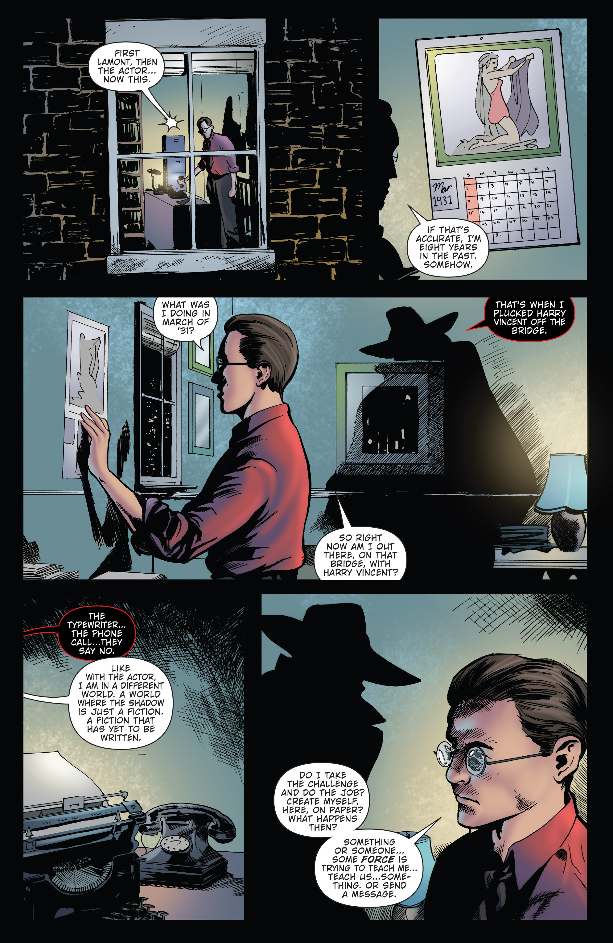 Read online Twilight Zone The Shadow comic -  Issue #3 - 6